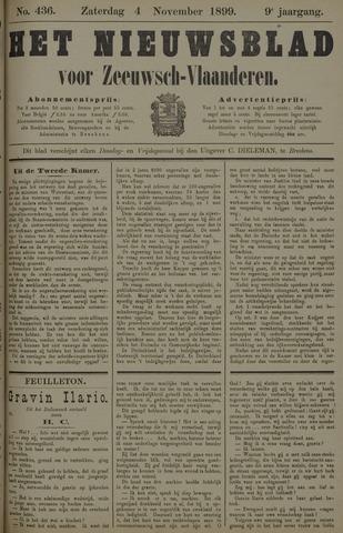 Nieuwsblad voor Zeeuwsch-Vlaanderen 1899-11-04