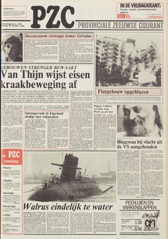 Provinciale Zeeuwse Courant 1985-10-29