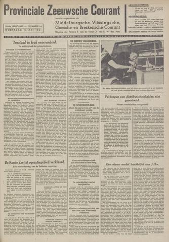 Provinciale Zeeuwse Courant 1941-05-14