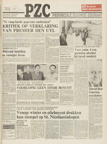 Provinciale Zeeuwse Courant 1973-12-03