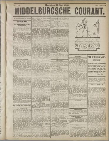 Middelburgsche Courant 1921-05-23
