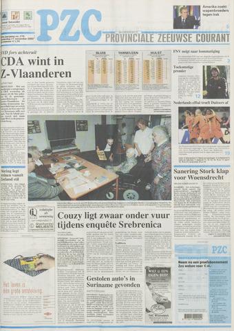 Provinciale Zeeuwse Courant 2002-11-21