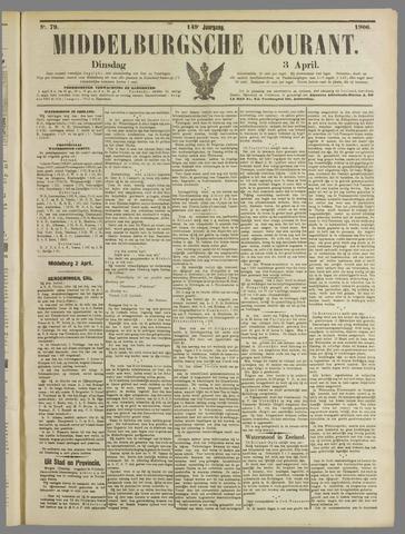 Middelburgsche Courant 1906-04-03