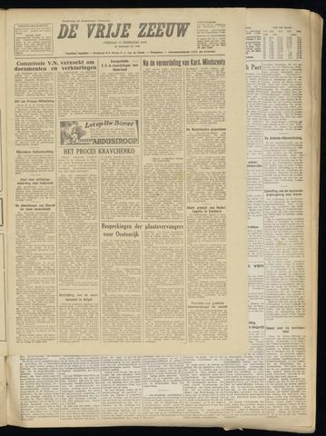 de Vrije Zeeuw 1949-02-11
