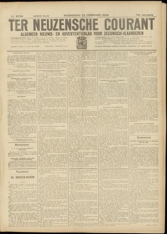 Ter Neuzensche Courant. Algemeen Nieuws- en Advertentieblad voor Zeeuwsch-Vlaanderen / Neuzensche Courant ... (idem) / (Algemeen) nieuws en advertentieblad voor Zeeuwsch-Vlaanderen 1938-02-23