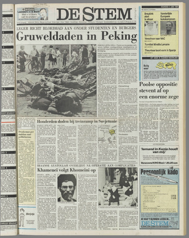 de Stem 1989-06-05