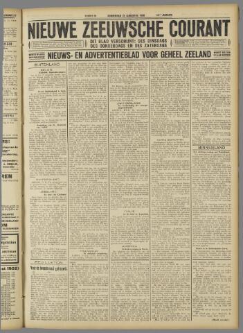 Nieuwe Zeeuwsche Courant 1926-08-12
