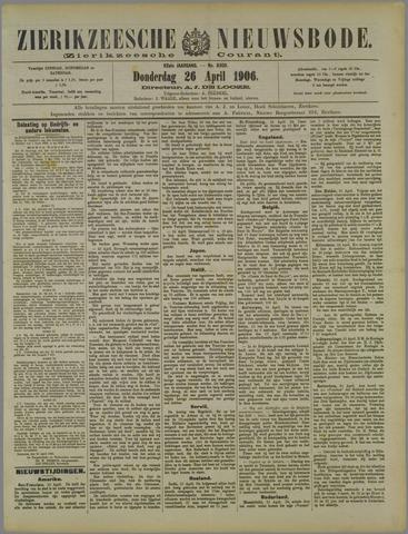 Zierikzeesche Nieuwsbode 1906-04-26