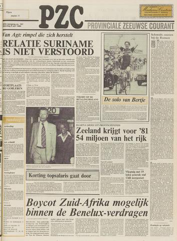 Provinciale Zeeuwse Courant 1980-07-05