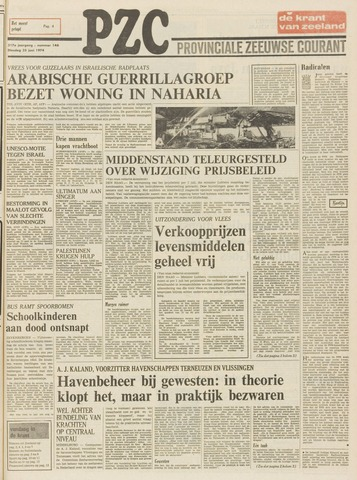 Provinciale Zeeuwse Courant 1974-06-25