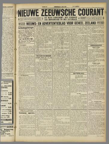 Nieuwe Zeeuwsche Courant 1927-05-12