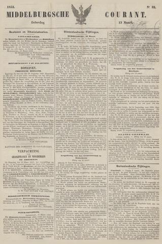 Middelburgsche Courant 1852-03-13