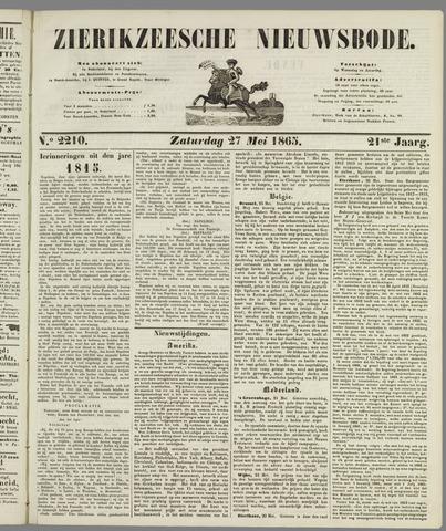 Zierikzeesche Nieuwsbode 1865-05-27