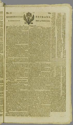 Middelburgsche Courant 1807-02-19