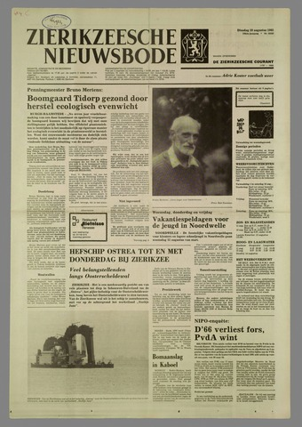 Zierikzeesche Nieuwsbode 1982-08-10