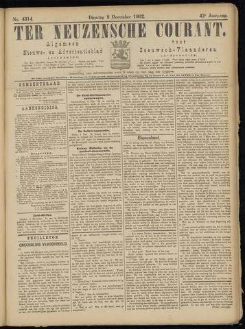 Ter Neuzensche Courant. Algemeen Nieuws- en Advertentieblad voor Zeeuwsch-Vlaanderen / Neuzensche Courant ... (idem) / (Algemeen) nieuws en advertentieblad voor Zeeuwsch-Vlaanderen 1902-12-09