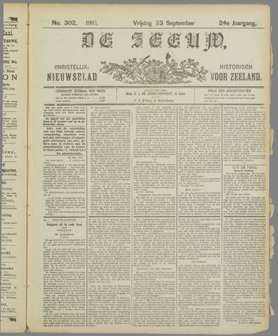 De Zeeuw. Christelijk-historisch nieuwsblad voor Zeeland 1910-09-23
