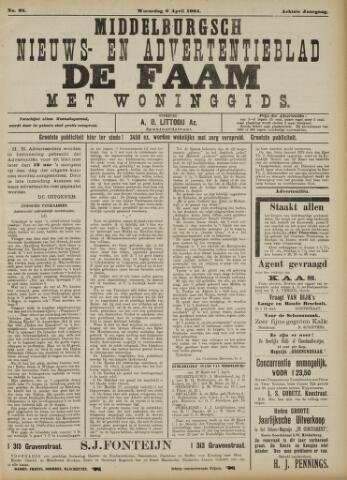 de Faam en de Faam/de Vlissinger 1904-04-06