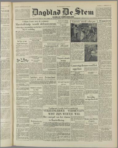 de Stem 1951-02-13