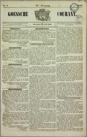 Goessche Courant 1856-01-14
