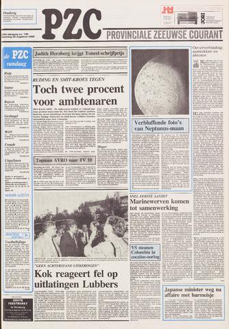 Provinciale Zeeuwse Courant 1989-08-26