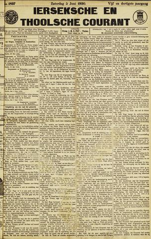 Ierseksche en Thoolsche Courant 1920-06-05