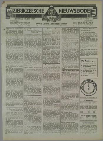 Zierikzeesche Nieuwsbode 1937-06-19