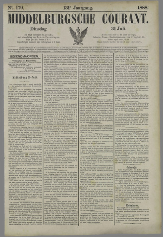 Middelburgsche Courant 1888-07-31