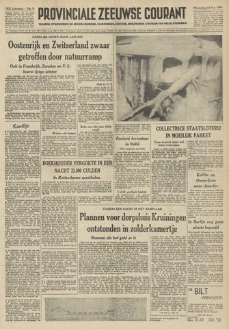 Provinciale Zeeuwse Courant 1954-01-13