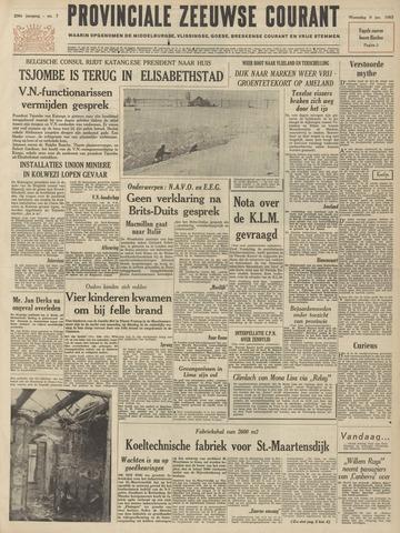 Provinciale Zeeuwse Courant 1963-01-09