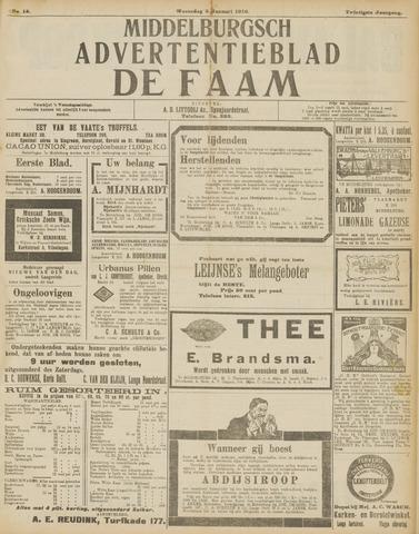 de Faam en de Faam/de Vlissinger 1916