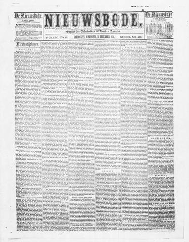 Sheboygan Nieuwsbode 1858-12-15