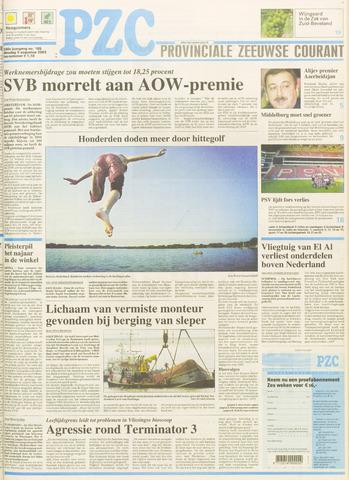 Provinciale Zeeuwse Courant 2003-08-05