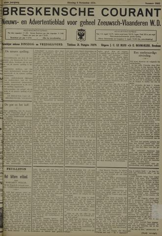 Breskensche Courant 1934-11-06