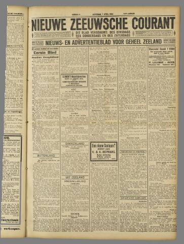 Nieuwe Zeeuwsche Courant 1928-04-07