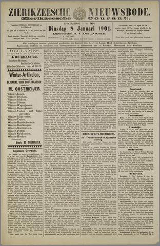 Zierikzeesche Nieuwsbode 1901-01-08