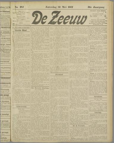 De Zeeuw. Christelijk-historisch nieuwsblad voor Zeeland 1917-05-12