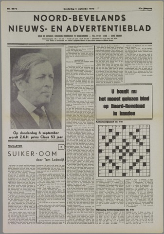 Noord-Bevelands Nieuws- en advertentieblad 1979-09-06