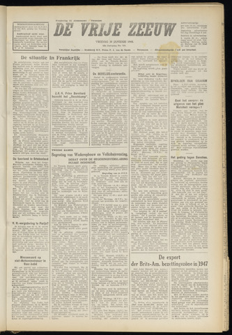 de Vrije Zeeuw 1948-01-30