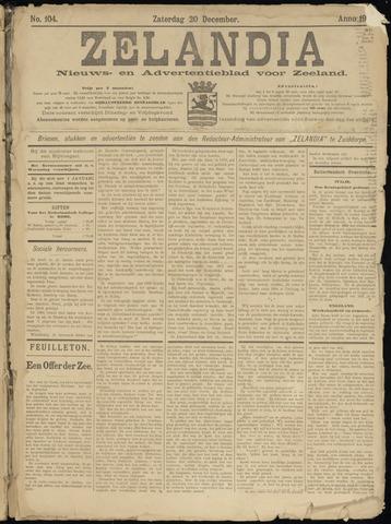 Zelandia. Nieuws-en advertentieblad voor Zeeland | edities: Het Land van Hulst en De Vier Ambachten 1902-12-20