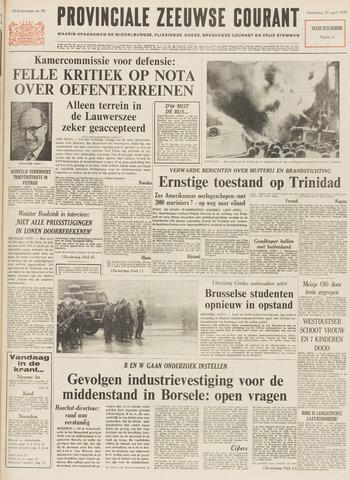 Provinciale Zeeuwse Courant 1970-04-23