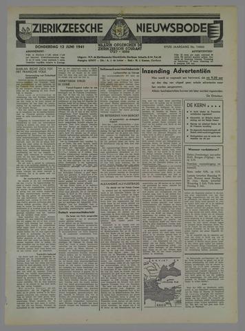 Zierikzeesche Nieuwsbode 1941-06-08