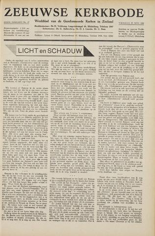 Zeeuwsche kerkbode, weekblad gewijd aan de belangen der gereformeerde kerken/ Zeeuwsch kerkblad 1951-05-25