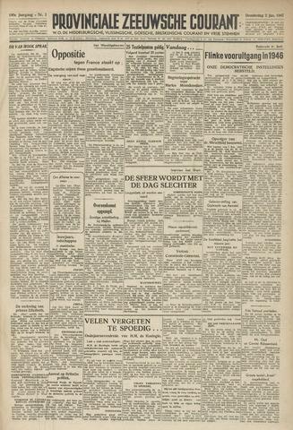 Provinciale Zeeuwse Courant 1947-01-02