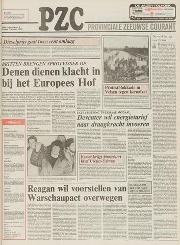 Provinciale Zeeuwse Courant 1983-01-07
