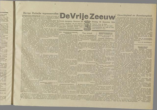 de Vrije Zeeuw 1944-12-19