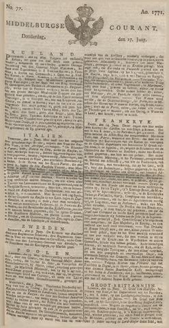 Middelburgsche Courant 1771-06-27