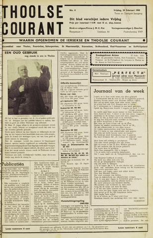 Ierseksche en Thoolsche Courant 1949-02-25