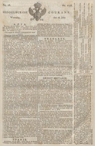 Middelburgsche Courant 1758-06-28