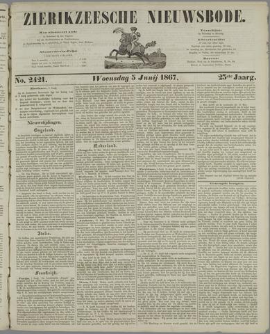 Zierikzeesche Nieuwsbode 1867-06-05